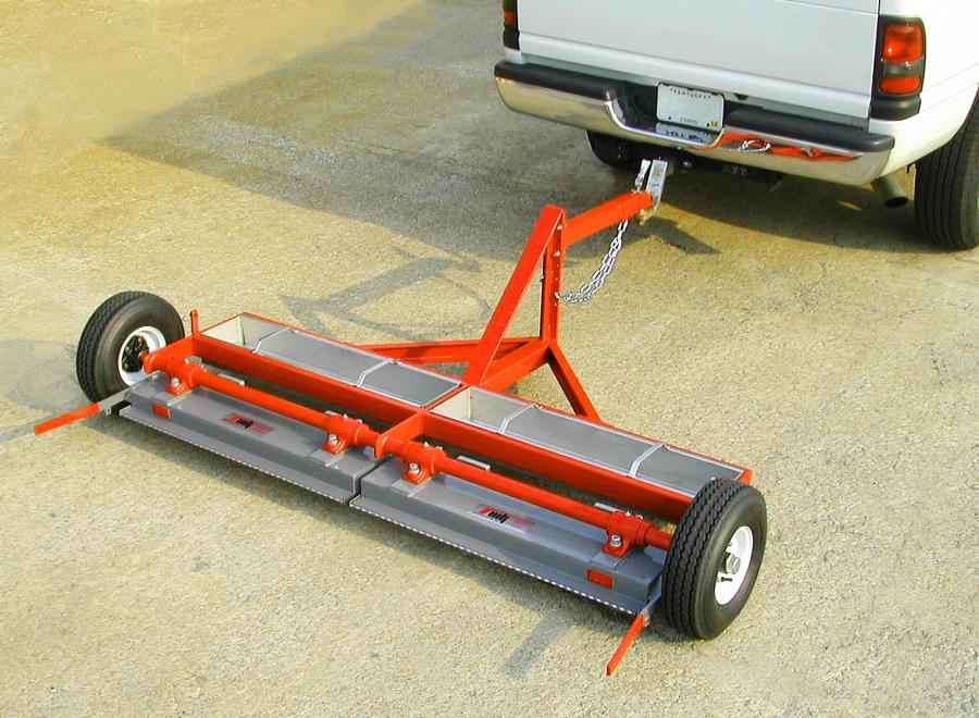 MKS 4000 Tow Behind Magnetic Sweeper Trailer
