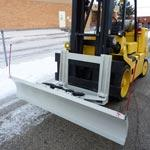 Forklift Snow Plows